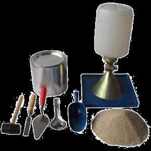 jual sand cone test set